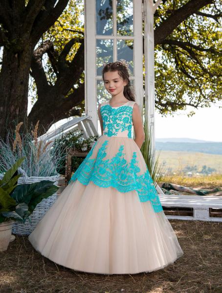 Дитячі сукні 2018. Дитяча сукня   D-476 ef5f19ab6649e