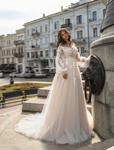Wedding dress / J-966