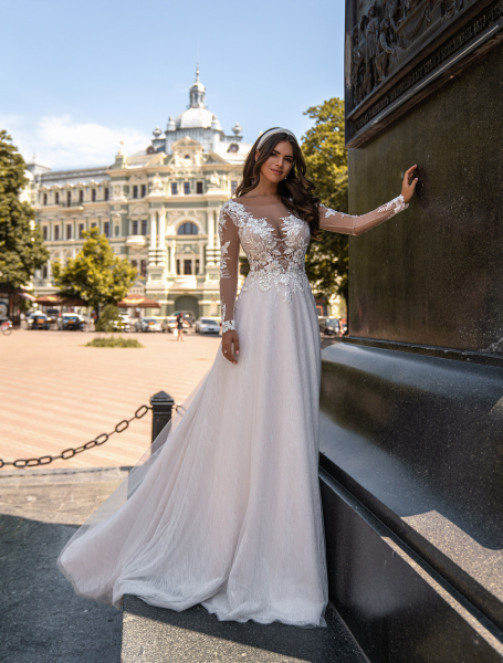 Wedding dress / J-973